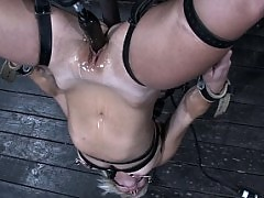 Hot girl on girl bondage action. Claire Adams and Vendetta!