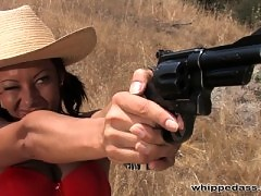 Sandra Romain and Annie Cruz decide to go Cunt Hunting.