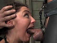 Princess Donna trained to serve cock