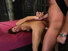 Jaime experiences BDSM and is rewarded with the magic wand.